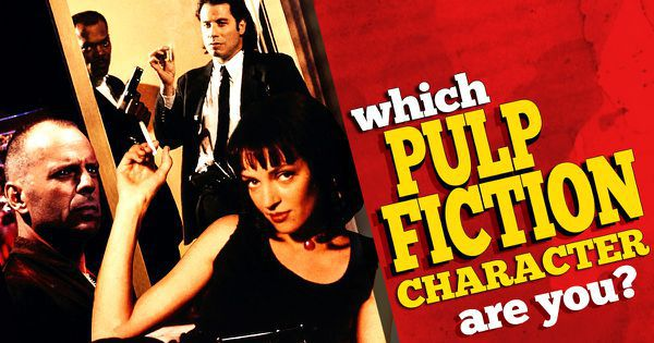 "Which ""Pulp Fiction"" Character Are You?"