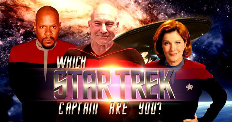 """Which """"Star Trek"""" Captain Are You?"""