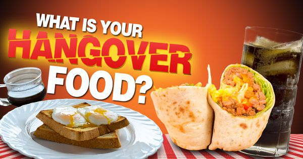 What Is Your Hangover Food?