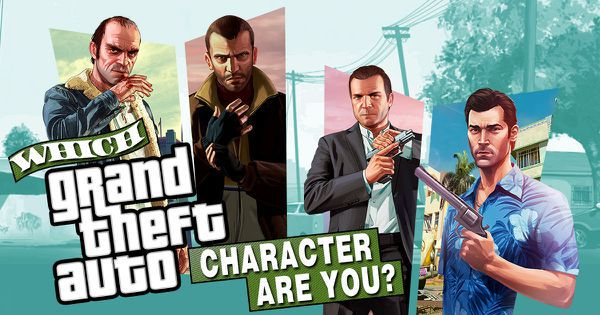 """Which """"Grand Theft Auto"""" Character Are You?"""