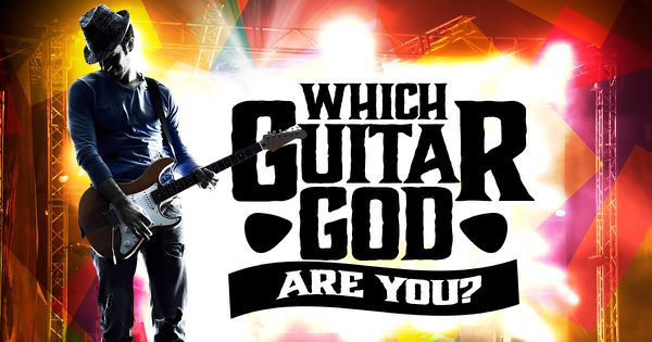 Which Guitar God Are You?