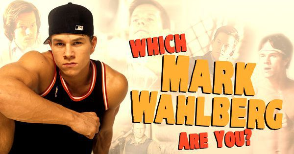 Which Mark Wahlberg Are You?