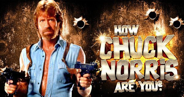 How Chuck Norris Are You?