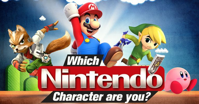Which Nintendo Character Are You?
