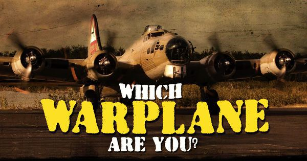 Which Warplane Are You?